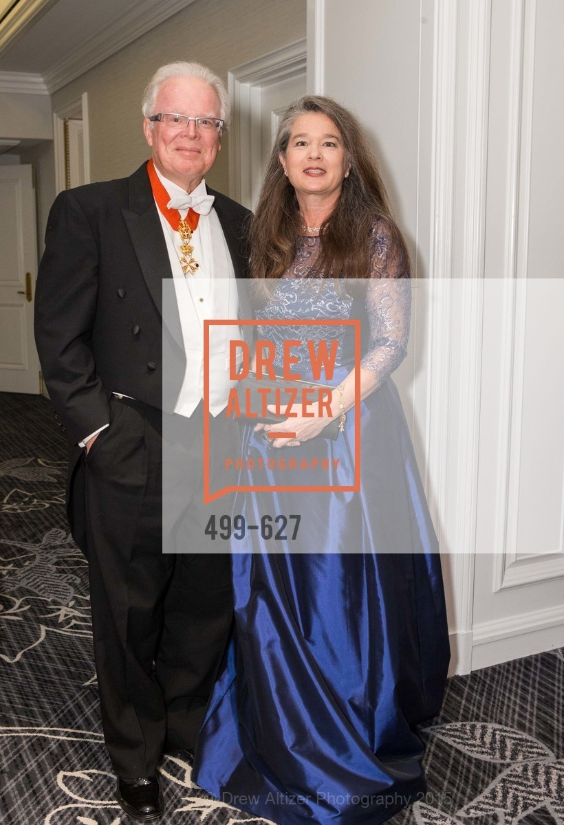 John Maltbie, Greta Maltbie, Sovereign Order Of St John of Jerusalem Knights Hospitaller Gala, Ritz Carlton San Francisco, December 5th, 2015,Drew Altizer, Drew Altizer Photography, full-service agency, private events, San Francisco photographer, photographer california