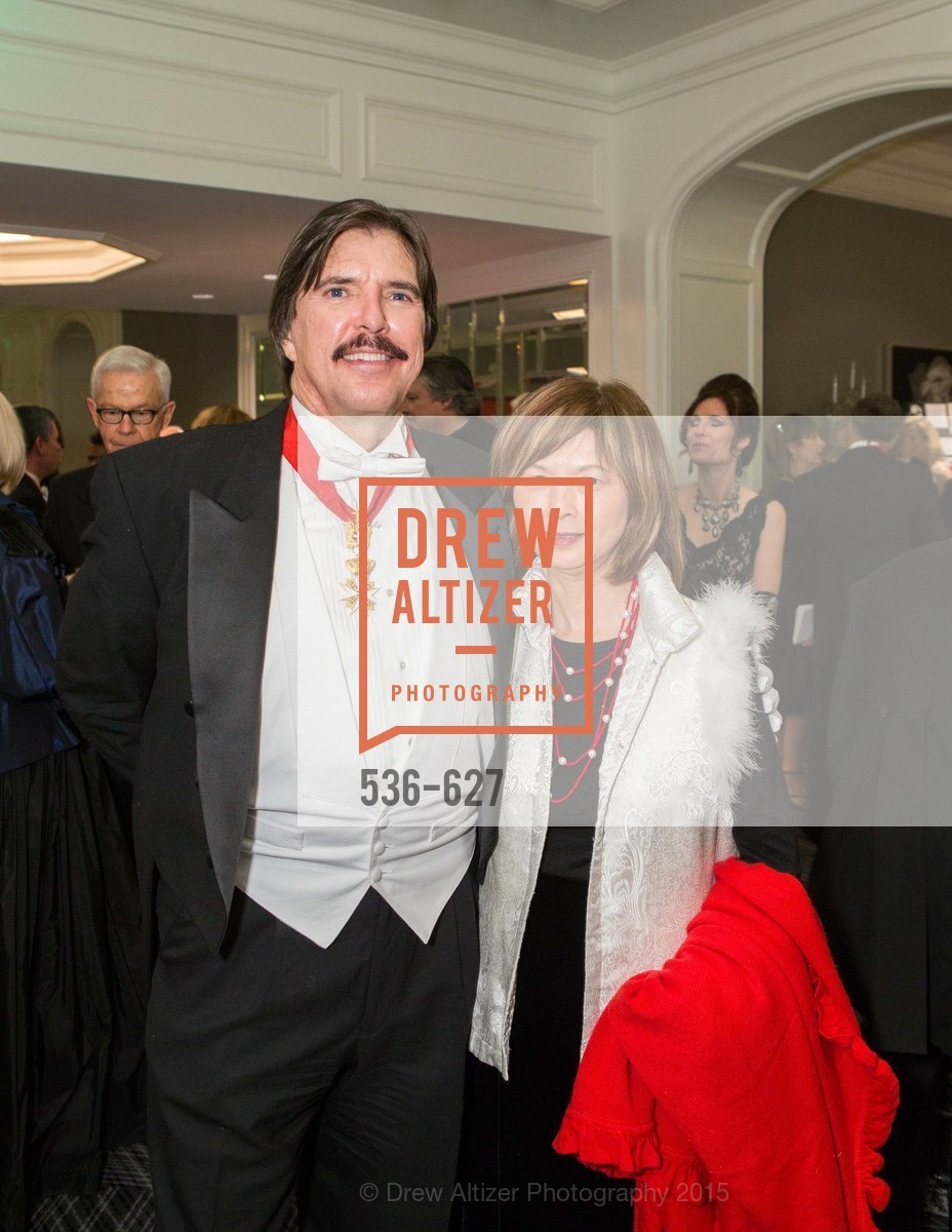 John Rosin, Claudine Cheng, Sovereign Order Of St John of Jerusalem Knights Hospitaller Gala, Ritz Carlton San Francisco, December 5th, 2015,Drew Altizer, Drew Altizer Photography, full-service agency, private events, San Francisco photographer, photographer california