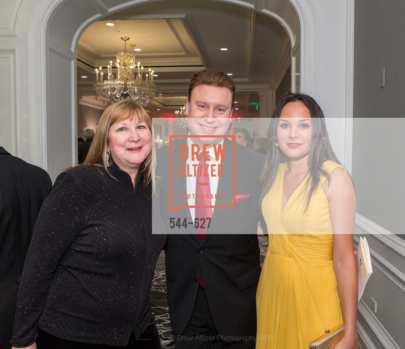 Veronica Labeau, Doug Waggener, Bahya Oumil-Murad, Sovereign Order Of St John of Jerusalem Knights Hospitaller Gala, Ritz Carlton San Francisco, December 5th, 2015,Drew Altizer, Drew Altizer Photography, full-service event agency, private events, San Francisco photographer, photographer California