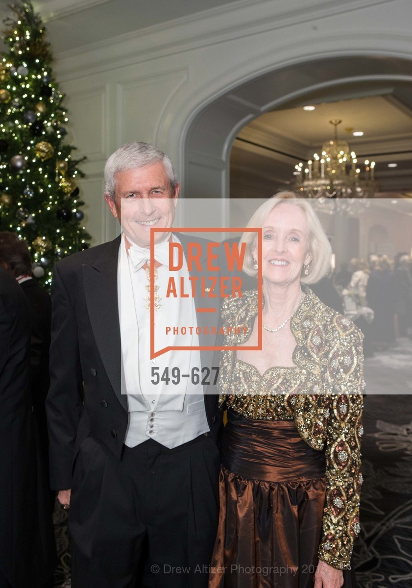 Robert Loarie, Connie Loarie, Sovereign Order Of St John of Jerusalem Knights Hospitaller Gala, Ritz Carlton San Francisco, December 5th, 2015,Drew Altizer, Drew Altizer Photography, full-service agency, private events, San Francisco photographer, photographer california