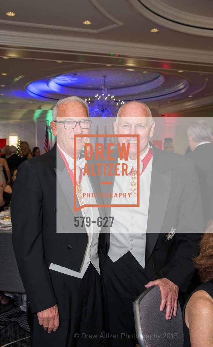 Gerry Parker, Larry Hester, Sovereign Order Of St John of Jerusalem Knights Hospitaller Gala, Ritz Carlton San Francisco, December 5th, 2015,Drew Altizer, Drew Altizer Photography, full-service agency, private events, San Francisco photographer, photographer california