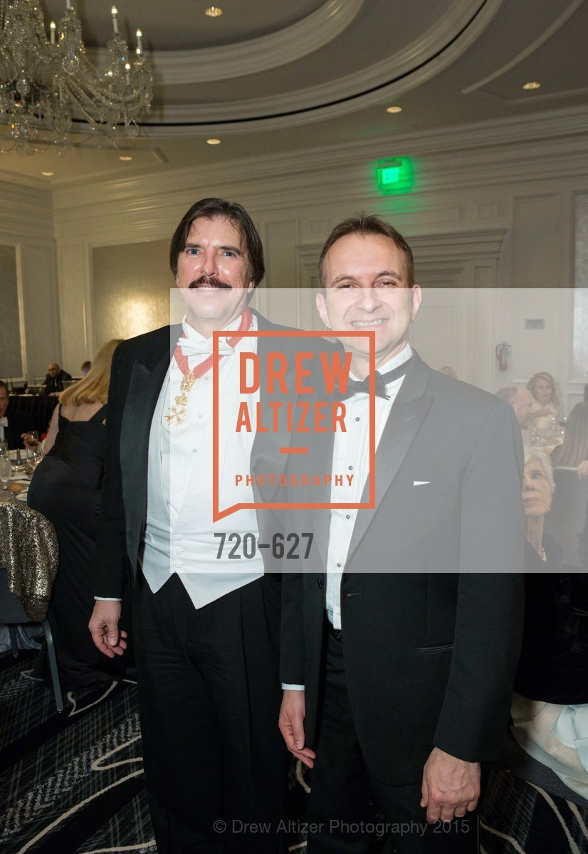 John Rosin, Mauro Battocchi, Sovereign Order Of St John of Jerusalem Knights Hospitaller Gala, Ritz Carlton San Francisco, December 5th, 2015,Drew Altizer, Drew Altizer Photography, full-service agency, private events, San Francisco photographer, photographer california