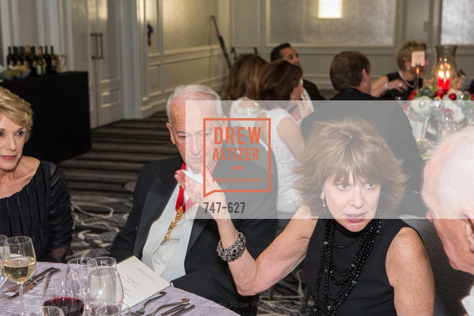 Gerry Parker, Jackie Hester, Sovereign Order Of St John of Jerusalem Knights Hospitaller Gala, Ritz Carlton San Francisco, December 5th, 2015,Drew Altizer, Drew Altizer Photography, full-service agency, private events, San Francisco photographer, photographer california