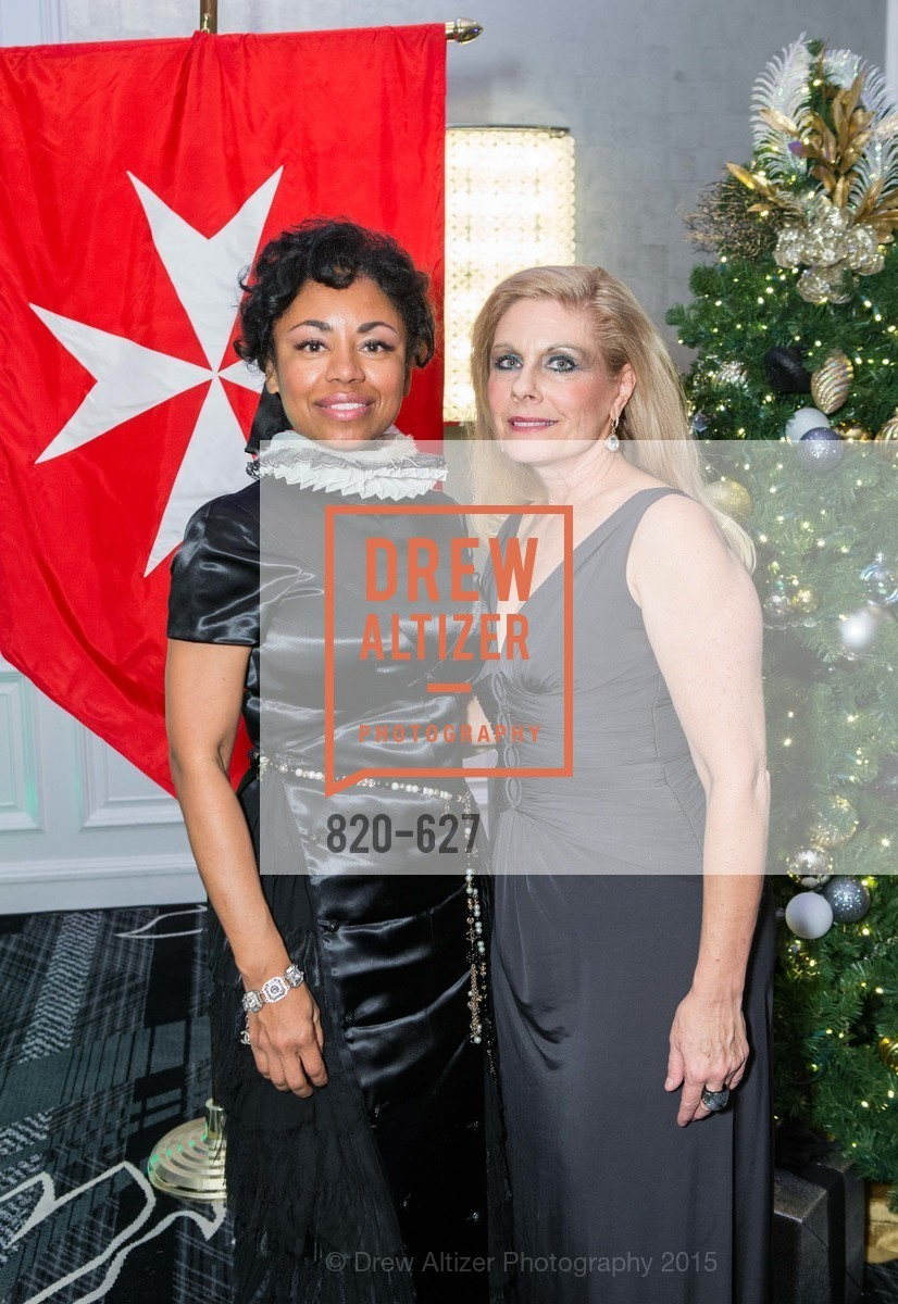 Tanya Powell, Jacqueline Jacoby, Sovereign Order Of St John of Jerusalem Knights Hospitaller Gala, Ritz Carlton San Francisco, December 5th, 2015,Drew Altizer, Drew Altizer Photography, full-service agency, private events, San Francisco photographer, photographer california