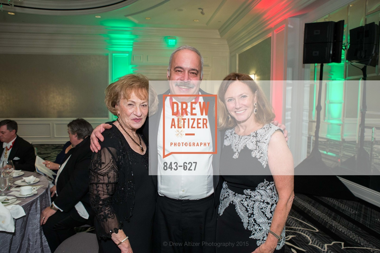 Gloria Citti, Christopher Citti, Colleen Wilcox, Sovereign Order Of St John of Jerusalem Knights Hospitaller Gala, Ritz Carlton San Francisco, December 5th, 2015,Drew Altizer, Drew Altizer Photography, full-service event agency, private events, San Francisco photographer, photographer California