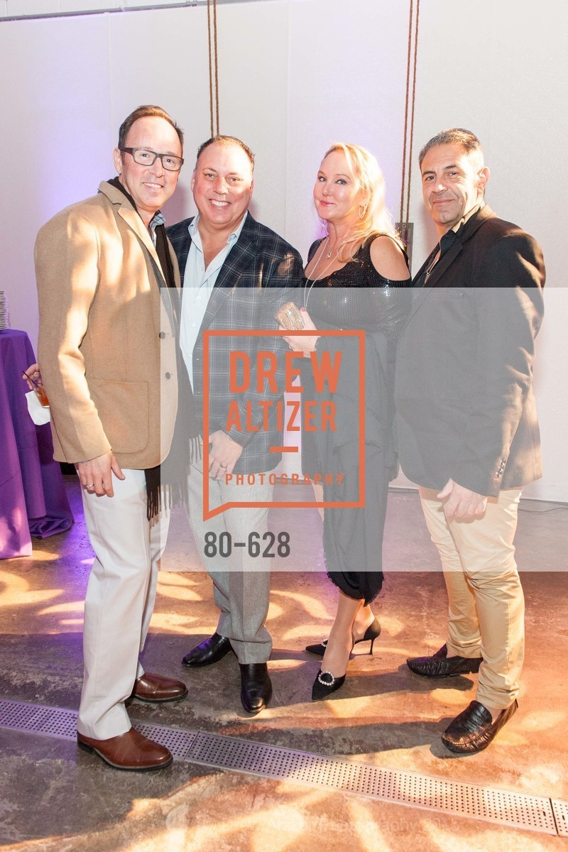 Christopher Hoover, George Rosenfield, Sheri Desmarest, Nick Savvides, Gregg Lynn & Glenn Risso's Holiday Party, Blunome Winery, December 5th, 2015,Drew Altizer, Drew Altizer Photography, full-service agency, private events, San Francisco photographer, photographer california