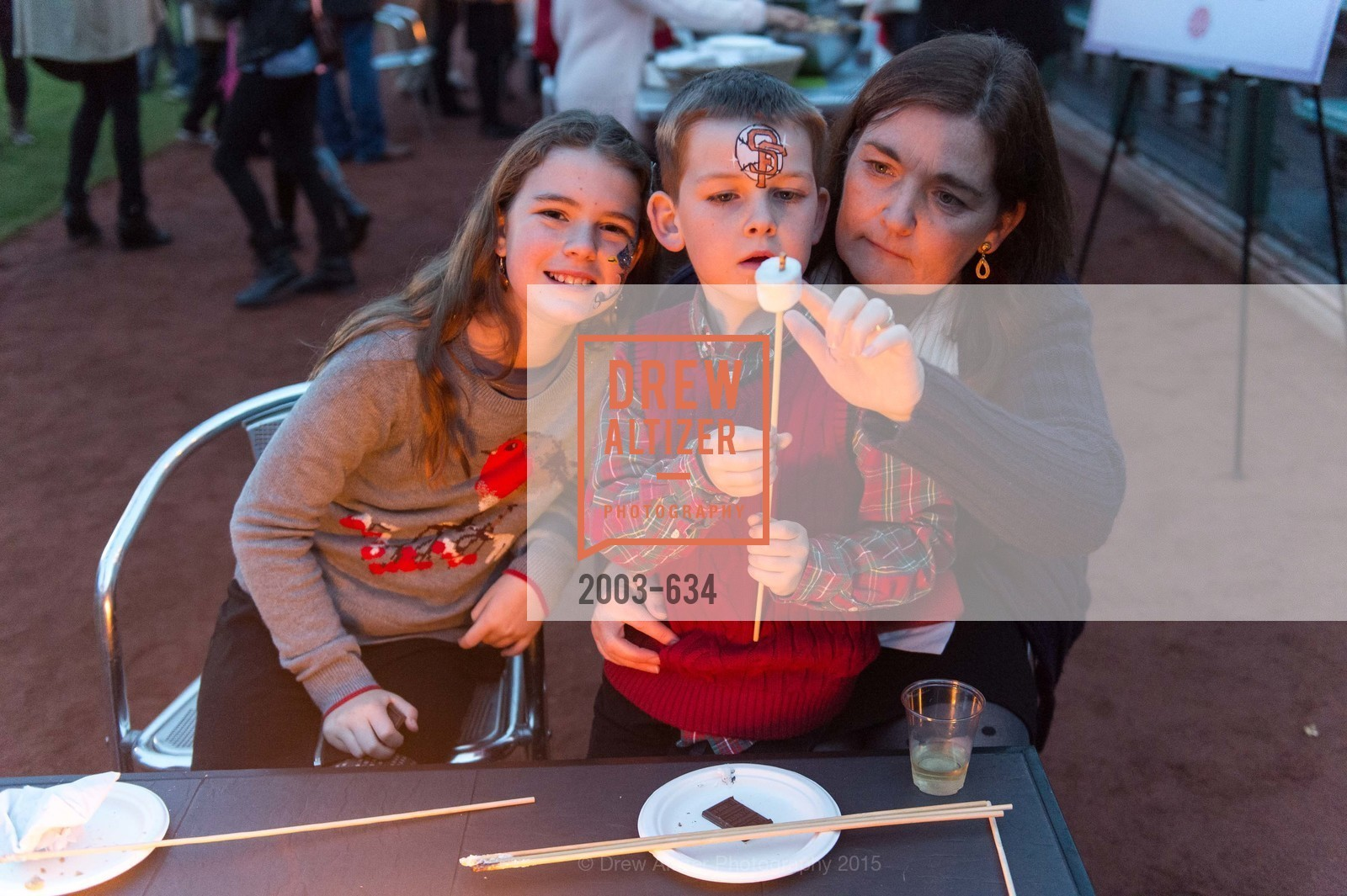 Mary Rose Canisse, Oliver Canisse, Olivia Canisse, Holiday Heroes 2015, AT&T Park, December 7th, 2015,Drew Altizer, Drew Altizer Photography, full-service agency, private events, San Francisco photographer, photographer california