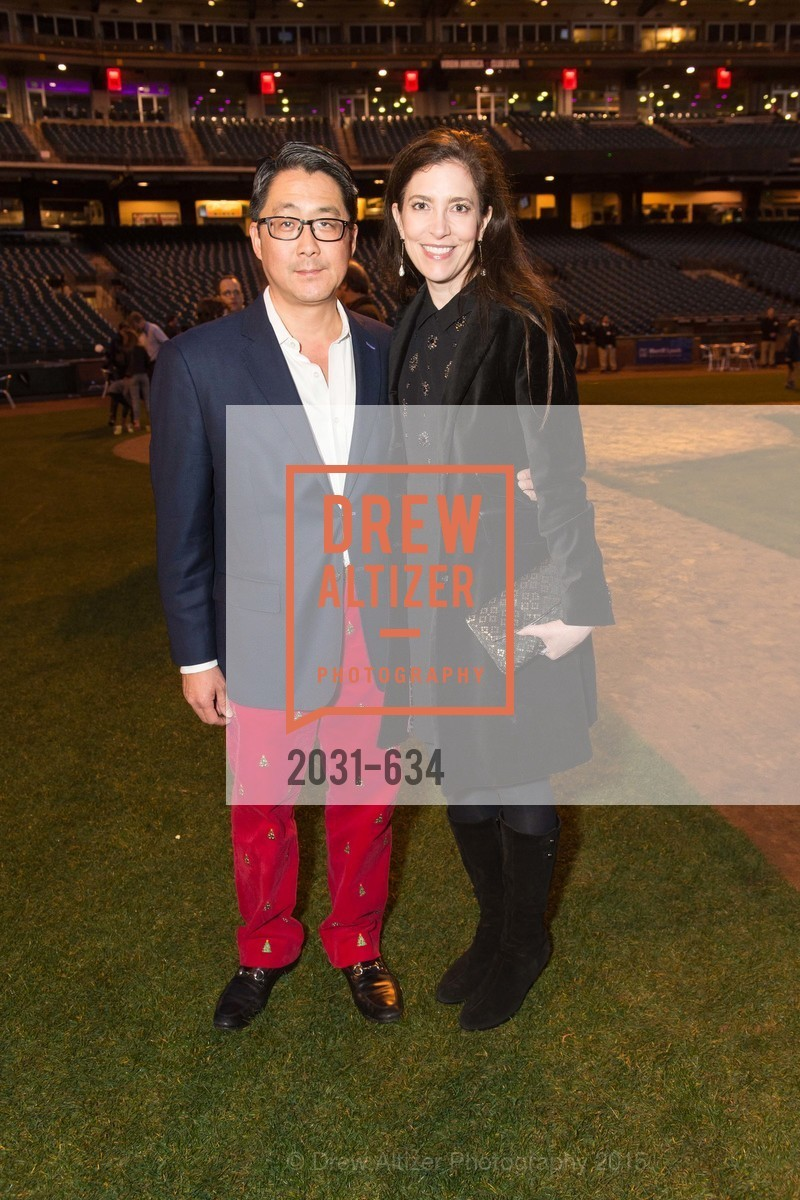 Michael Kim, Letitia Kim, Holiday Heroes 2015, AT&T Park, December 7th, 2015,Drew Altizer, Drew Altizer Photography, full-service agency, private events, San Francisco photographer, photographer california