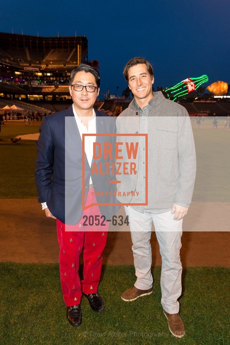 Michael Kim, Jonny Moseley, Holiday Heroes 2015, AT&T Park, December 7th, 2015,Drew Altizer, Drew Altizer Photography, full-service agency, private events, San Francisco photographer, photographer california