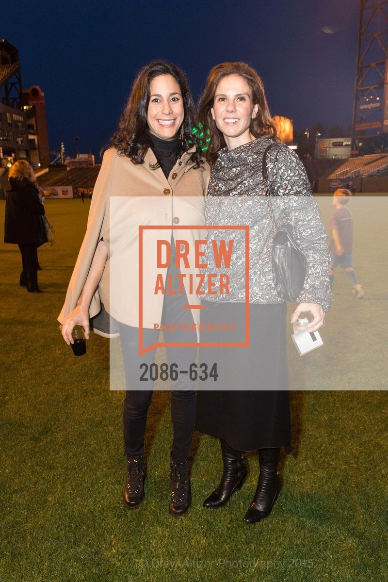 Donna Hoghooghi, Andrea Zola, Holiday Heroes 2015, AT&T Park, December 7th, 2015
