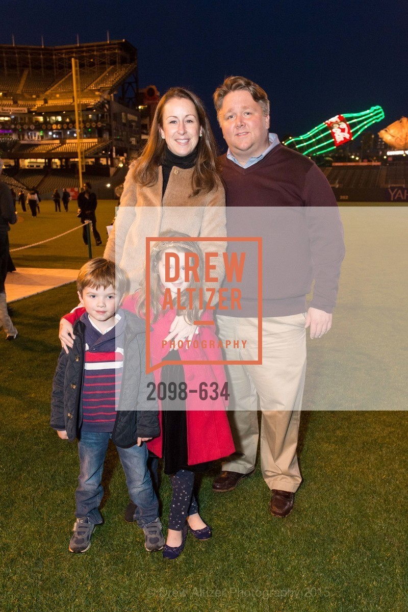 William Dearie, Lily Dearie, Rebecca Dearie, Holiday Heroes 2015, AT&T Park, December 7th, 2015,Drew Altizer, Drew Altizer Photography, full-service event agency, private events, San Francisco photographer, photographer California