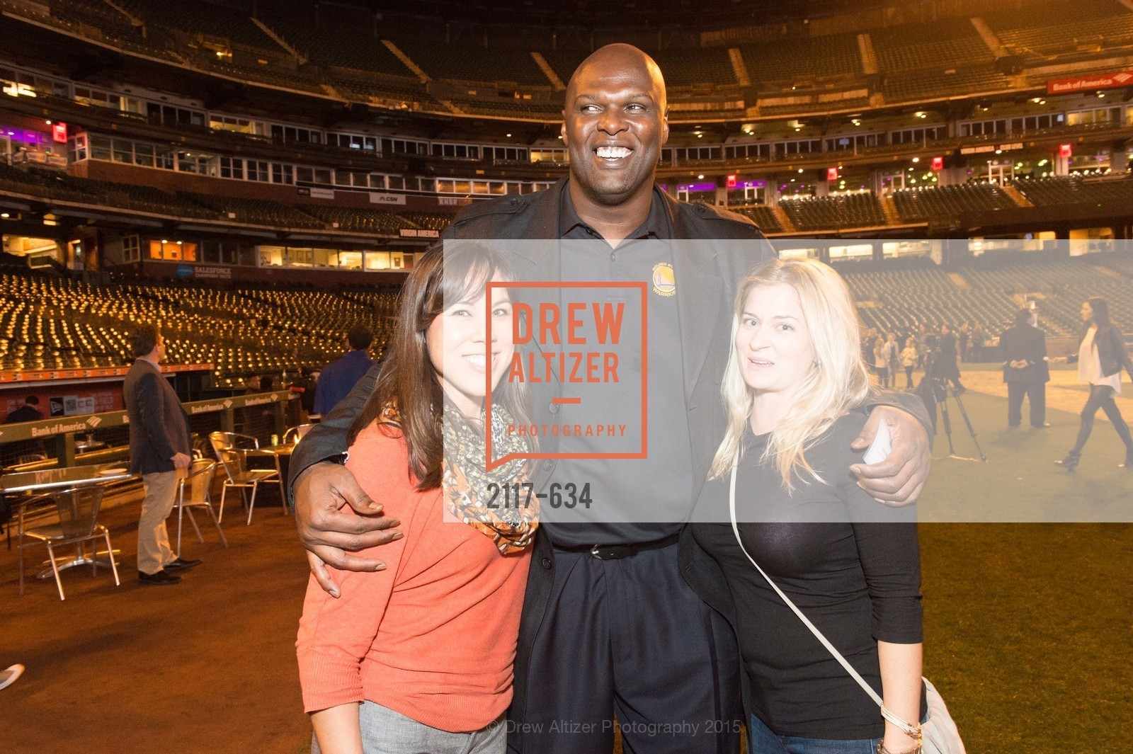 Stacy Quan, Adonal Foyle, Tammy Patterson, Holiday Heroes 2015, AT&T Park, December 7th, 2015,Drew Altizer, Drew Altizer Photography, full-service agency, private events, San Francisco photographer, photographer california