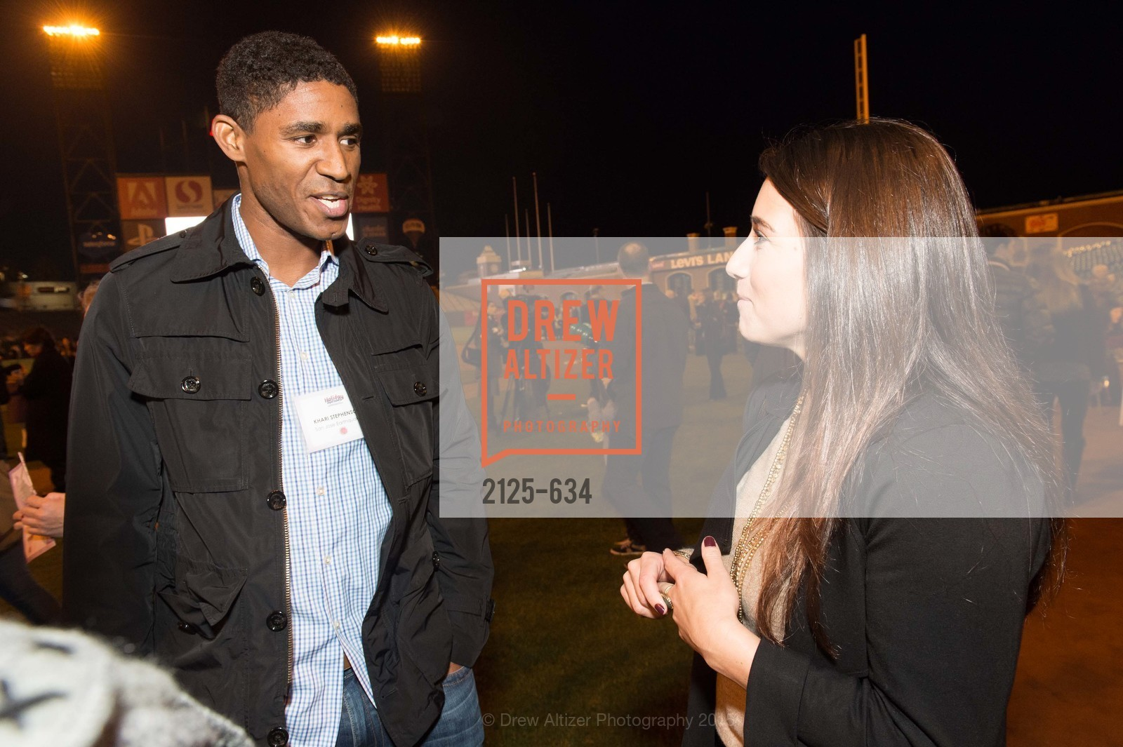 Khari Stephenson, Jenny Eastland, Holiday Heroes 2015, AT&T Park, December 7th, 2015,Drew Altizer, Drew Altizer Photography, full-service agency, private events, San Francisco photographer, photographer california