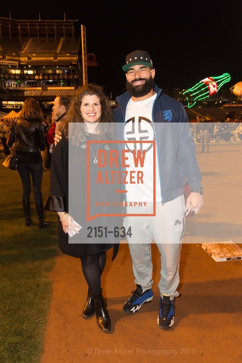 Amy Wender-Hoch, Michael Wilhoite, Holiday Heroes 2015, AT&T Park, December 7th, 2015,Drew Altizer, Drew Altizer Photography, full-service agency, private events, San Francisco photographer, photographer california