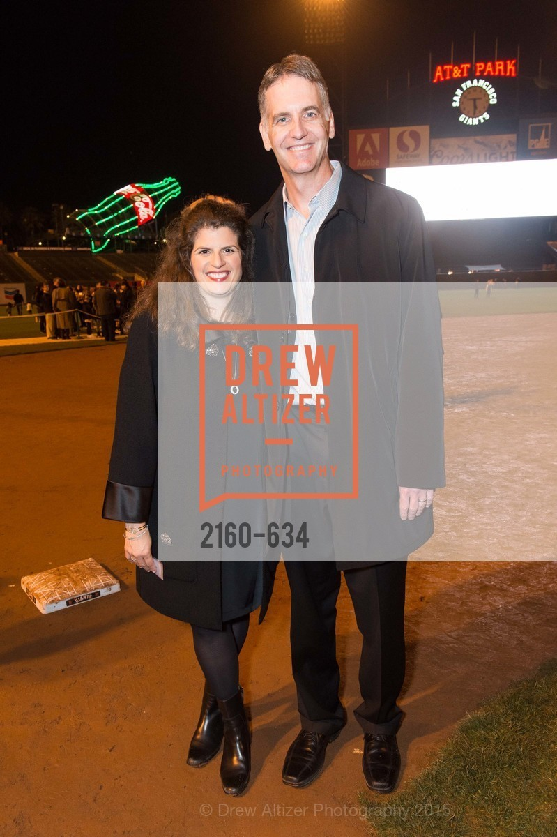 Amy Wender-Hoch, John Hoch, Holiday Heroes 2015, AT&T Park, December 7th, 2015,Drew Altizer, Drew Altizer Photography, full-service agency, private events, San Francisco photographer, photographer california