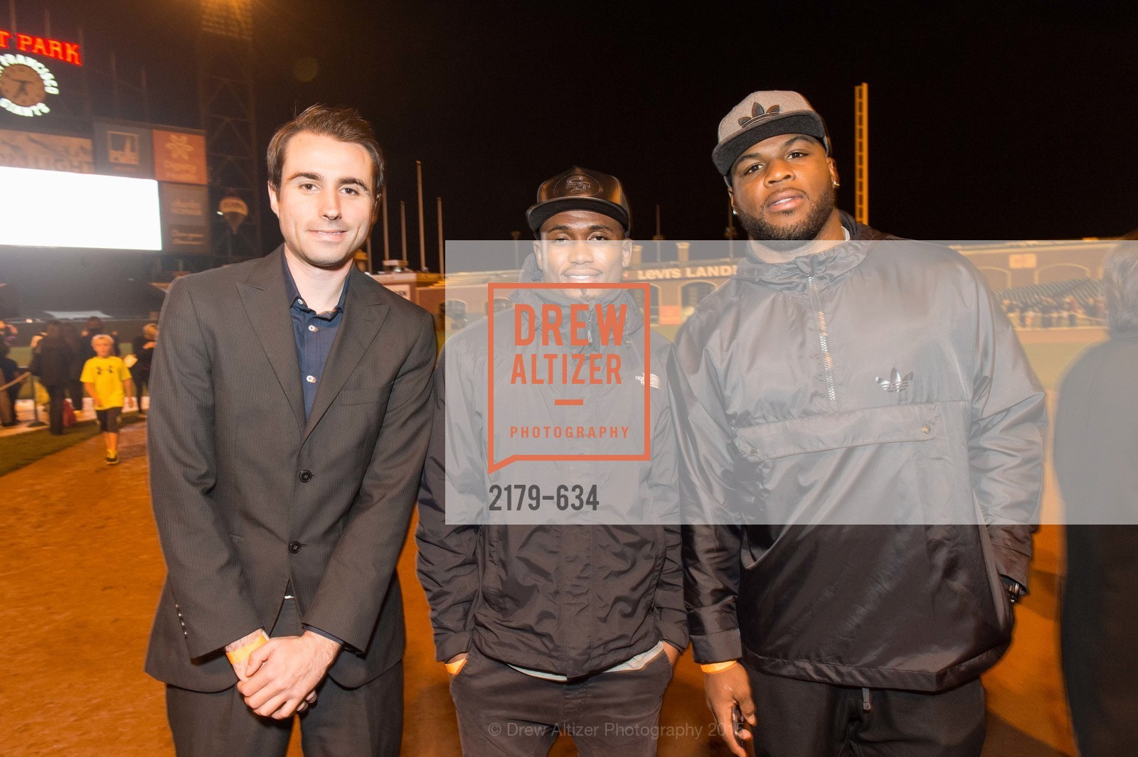 Tyler Sobie, Greg Pratt, Carlos Hyde, Holiday Heroes 2015, AT&T Park, December 7th, 2015,Drew Altizer, Drew Altizer Photography, full-service agency, private events, San Francisco photographer, photographer california