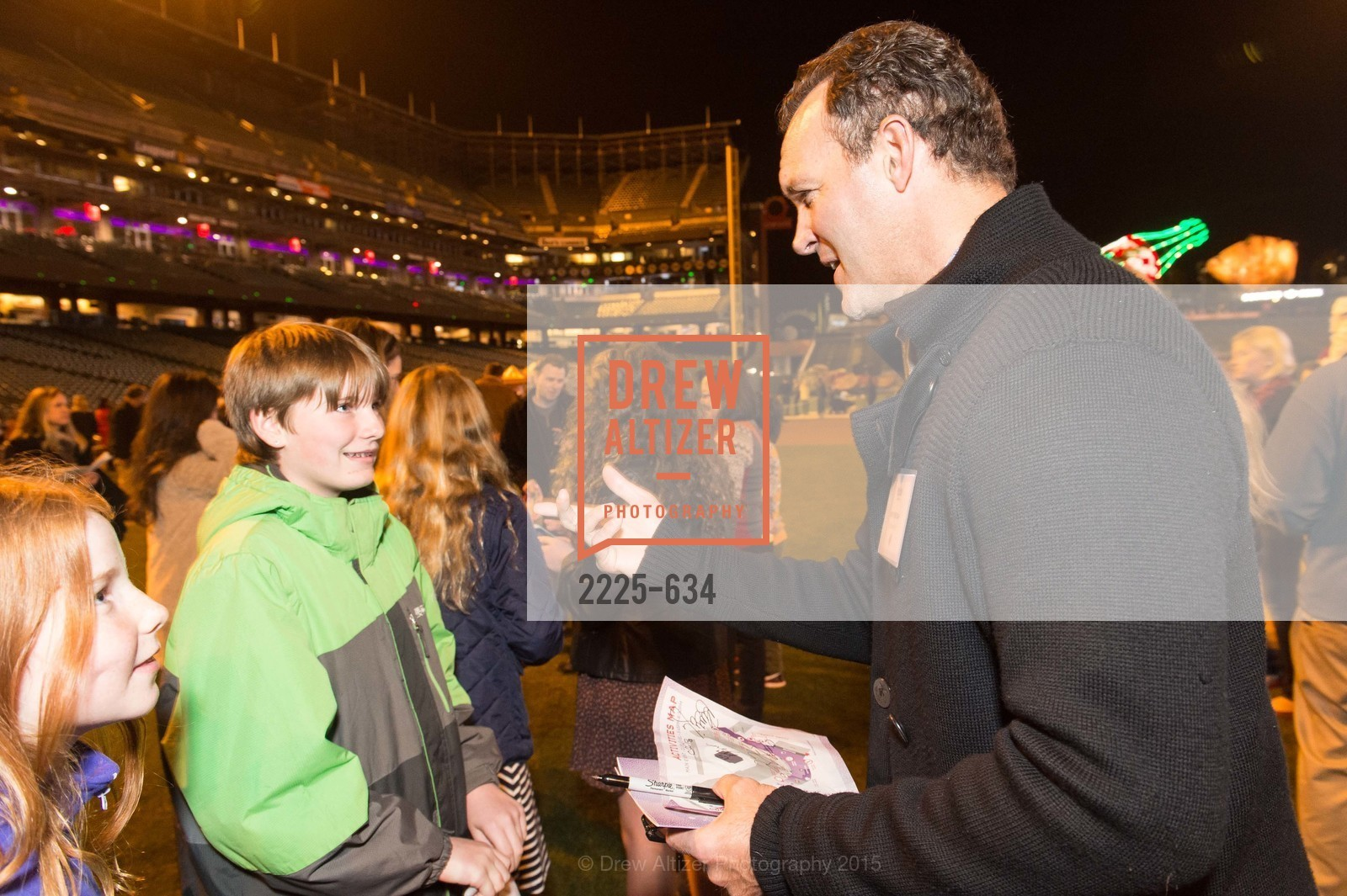 Bret Hedican, Holiday Heroes 2015, AT&T Park, December 7th, 2015,Drew Altizer, Drew Altizer Photography, full-service agency, private events, San Francisco photographer, photographer california