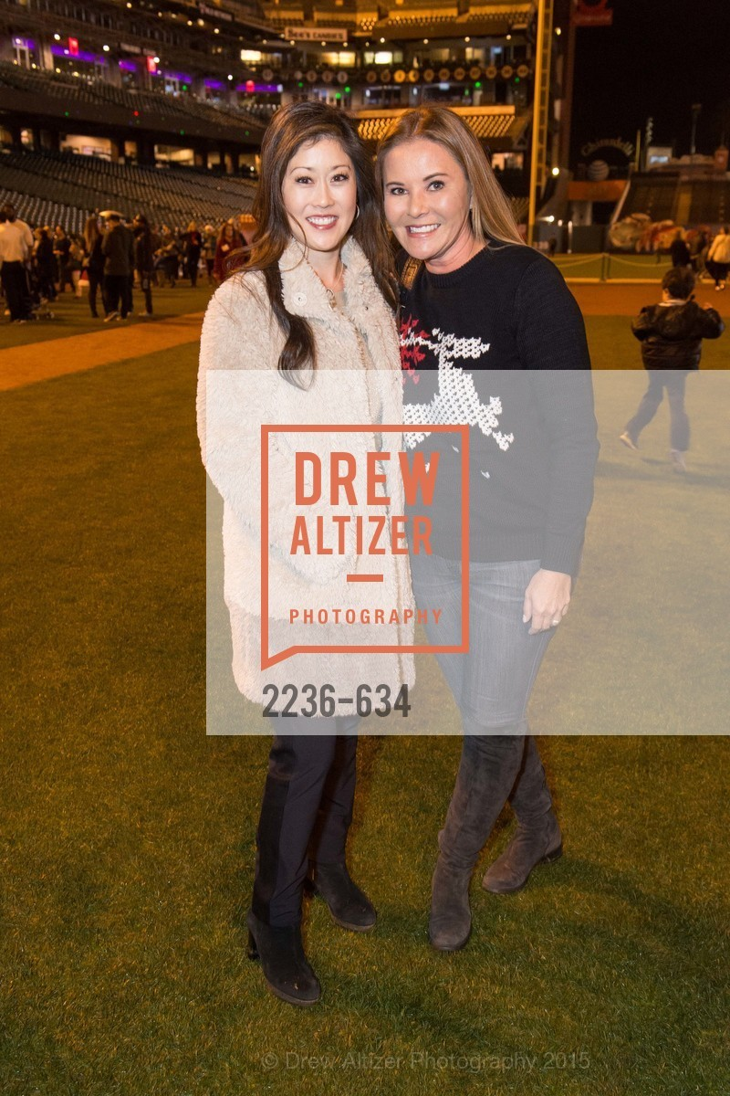 Kristi Yamaguchi, Judy Davies, Holiday Heroes 2015, AT&T Park, December 7th, 2015,Drew Altizer, Drew Altizer Photography, full-service agency, private events, San Francisco photographer, photographer california
