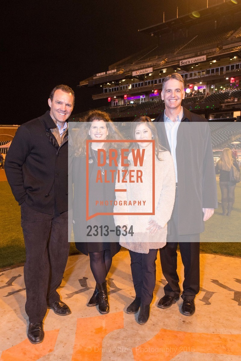 Bret Hedican, Amy Wender-Hoch, Kristi Yamaguchi, John Hoch, Holiday Heroes 2015, AT&T Park, December 7th, 2015,Drew Altizer, Drew Altizer Photography, full-service agency, private events, San Francisco photographer, photographer california
