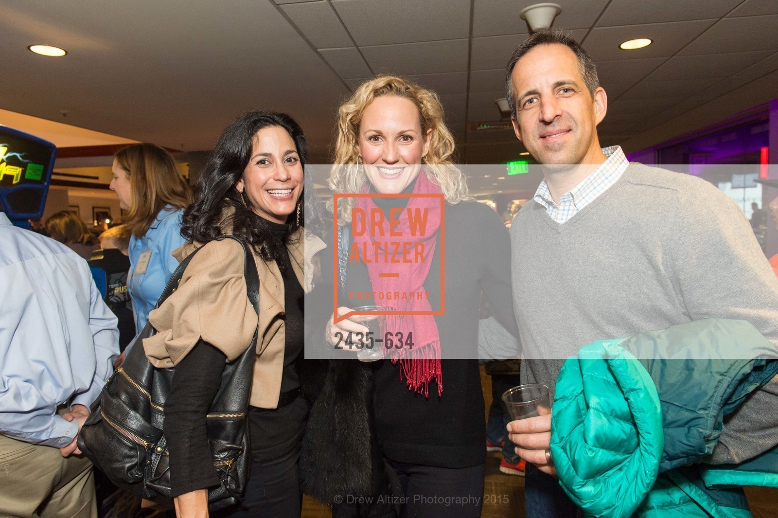 Donna Hoghooghi, Jeanne Thompson, Eric Thompson, Holiday Heroes 2015, AT&T Park, December 7th, 2015,Drew Altizer, Drew Altizer Photography, full-service agency, private events, San Francisco photographer, photographer california