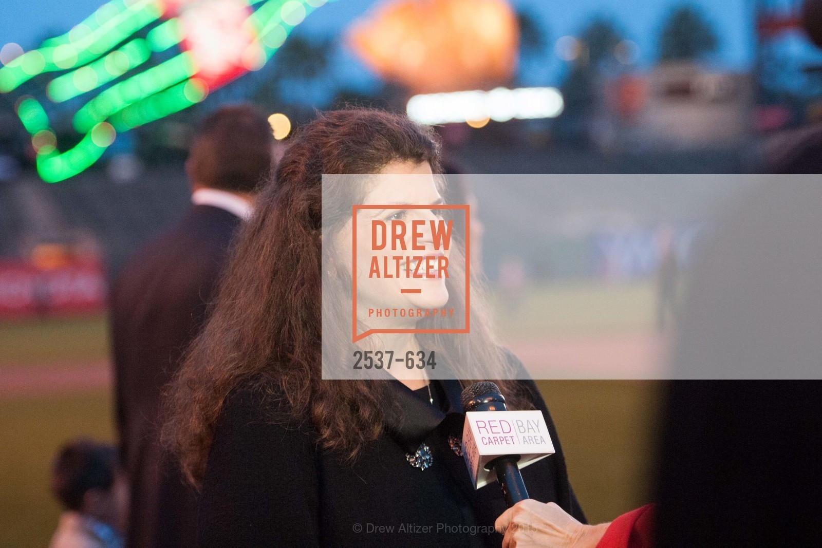 Amy Wender-Hoch, Holiday Heroes 2015, AT&T Park, December 7th, 2015
