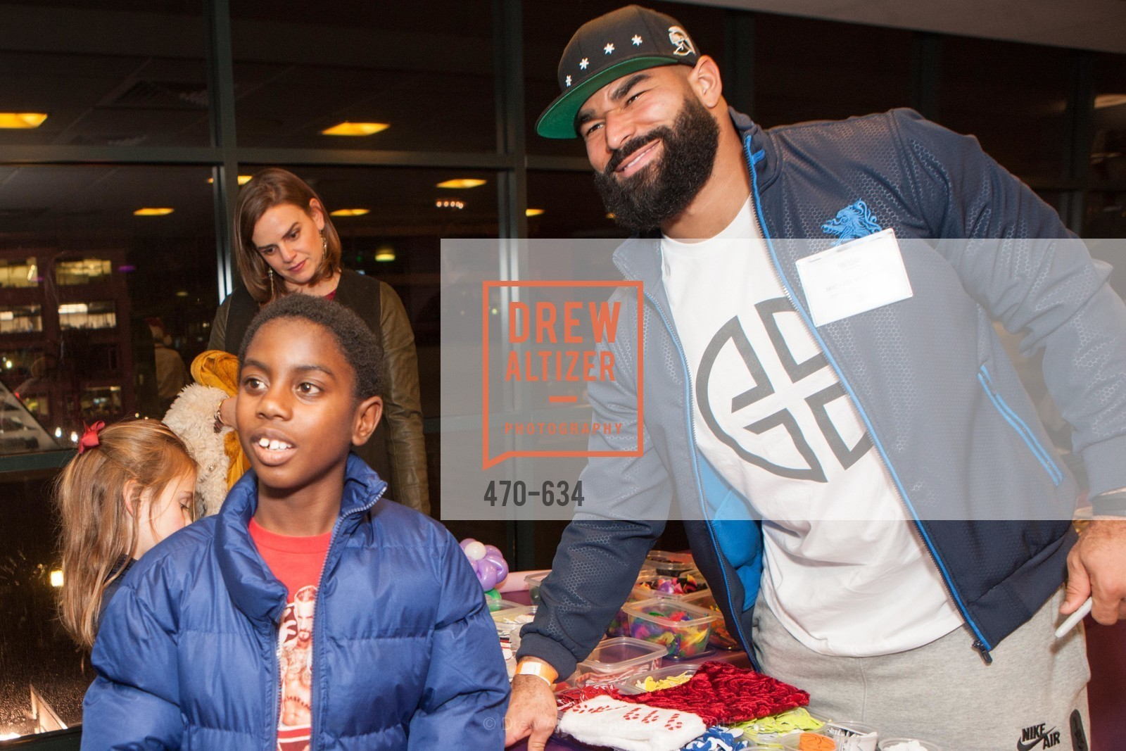 Lamarion Daniel, Michael Wilhoite, Holiday Heroes 2015, AT&T Park, December 7th, 2015,Drew Altizer, Drew Altizer Photography, full-service agency, private events, San Francisco photographer, photographer california