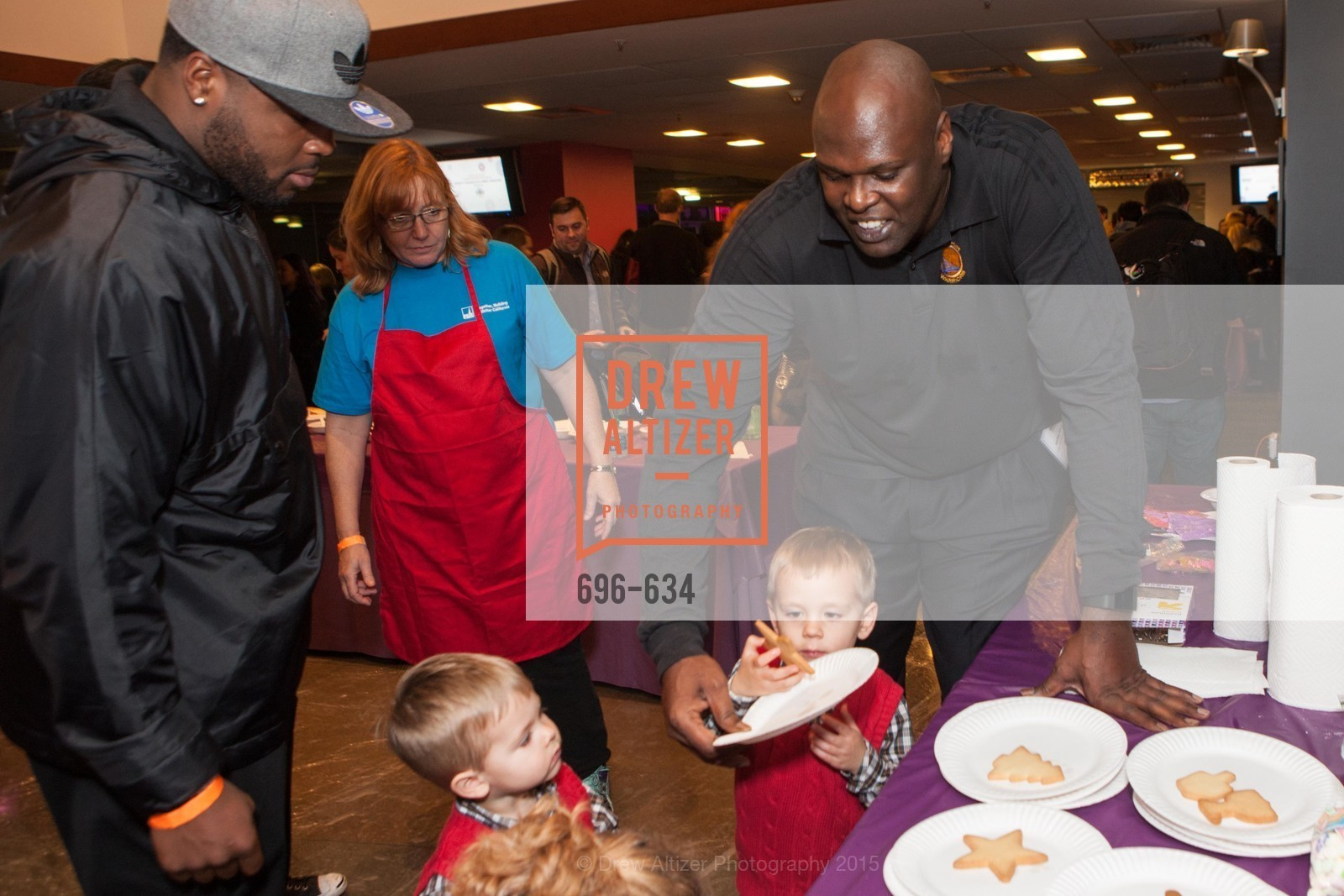 Adonal Foyle, Holiday Heroes 2015, AT&T Park, December 7th, 2015,Drew Altizer, Drew Altizer Photography, full-service agency, private events, San Francisco photographer, photographer california