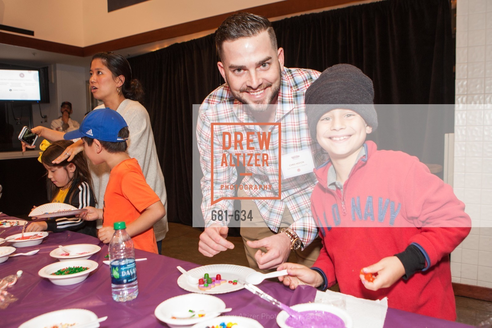 Chris Heston, Elias Santa Maria, Holiday Heroes 2015, AT&T Park, December 7th, 2015,Drew Altizer, Drew Altizer Photography, full-service agency, private events, San Francisco photographer, photographer california