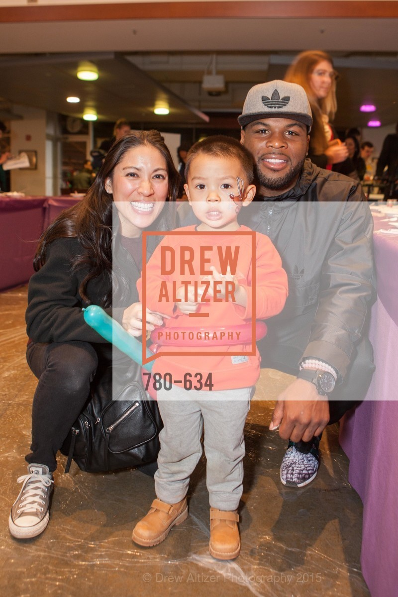 Debbie Tan, Brayden Tan, Carlos Hyde, Holiday Heroes 2015, AT&T Park, December 7th, 2015,Drew Altizer, Drew Altizer Photography, full-service agency, private events, San Francisco photographer, photographer california