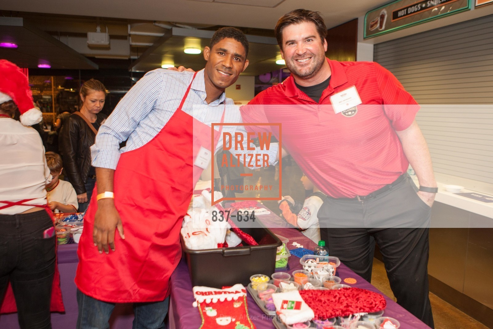 Khari Stephenson, Eric Heitmann, Holiday Heroes 2015, AT&T Park, December 7th, 2015,Drew Altizer, Drew Altizer Photography, full-service agency, private events, San Francisco photographer, photographer california