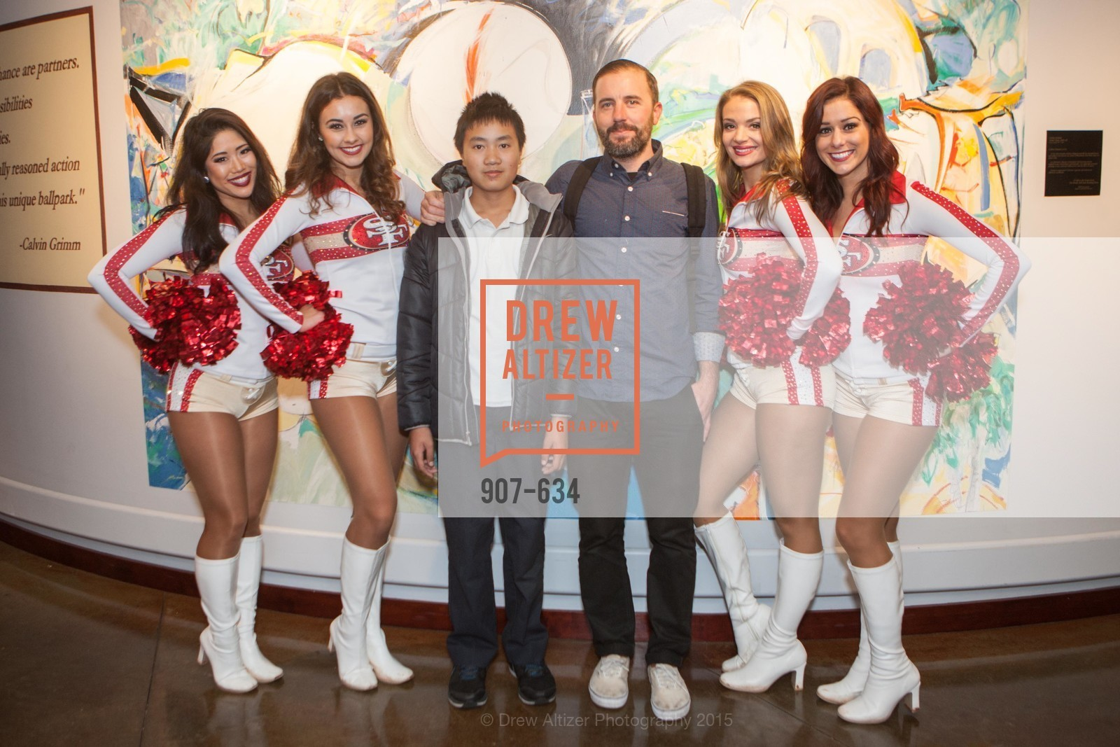 Yuli, Jordan, Ricky Rein, Carina, Casy, Holiday Heroes 2015, AT&T Park, December 7th, 2015,Drew Altizer, Drew Altizer Photography, full-service agency, private events, San Francisco photographer, photographer california
