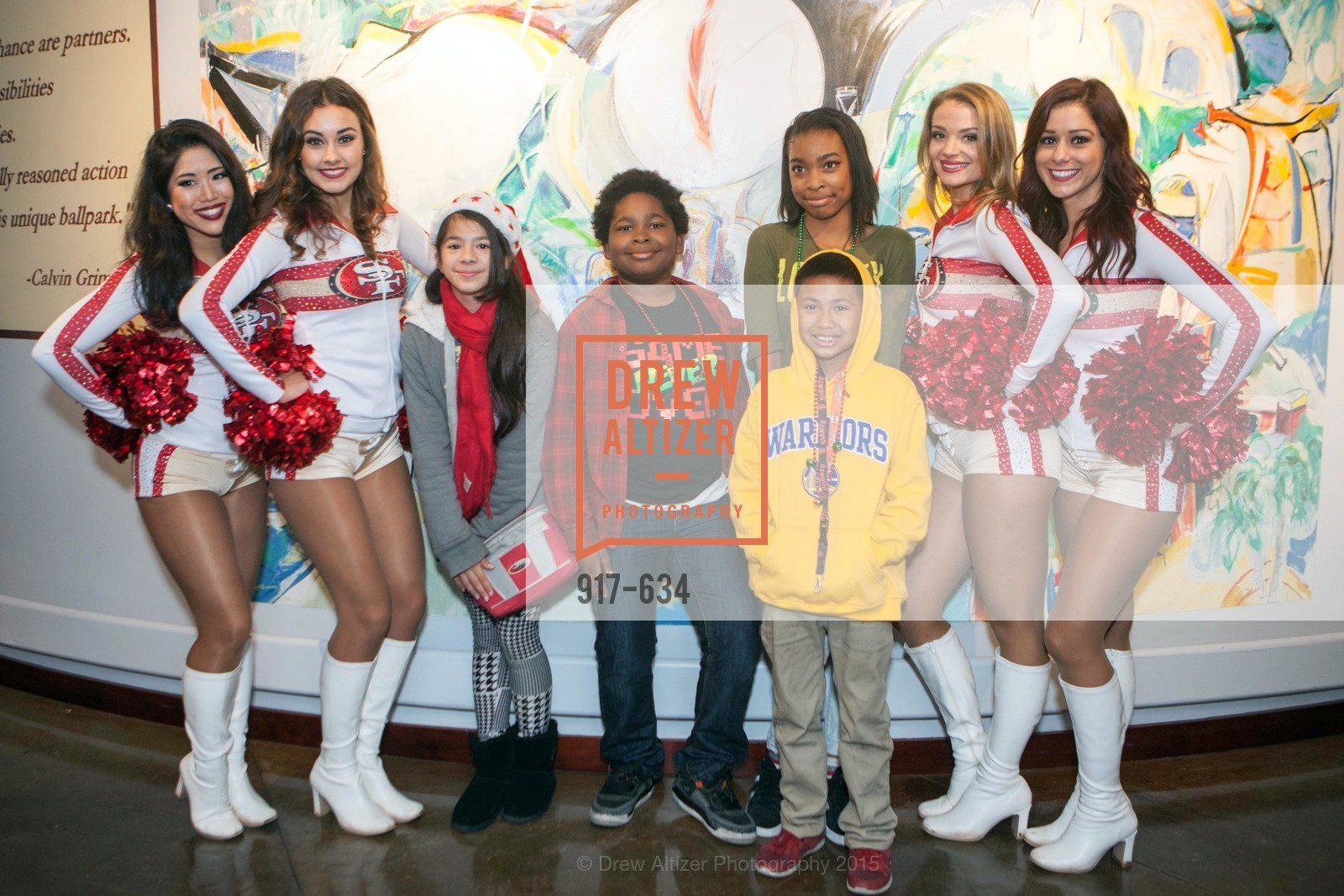 Yuli, Jordan, Carina, Casy, Holiday Heroes 2015, AT&T Park, December 7th, 2015,Drew Altizer, Drew Altizer Photography, full-service agency, private events, San Francisco photographer, photographer california