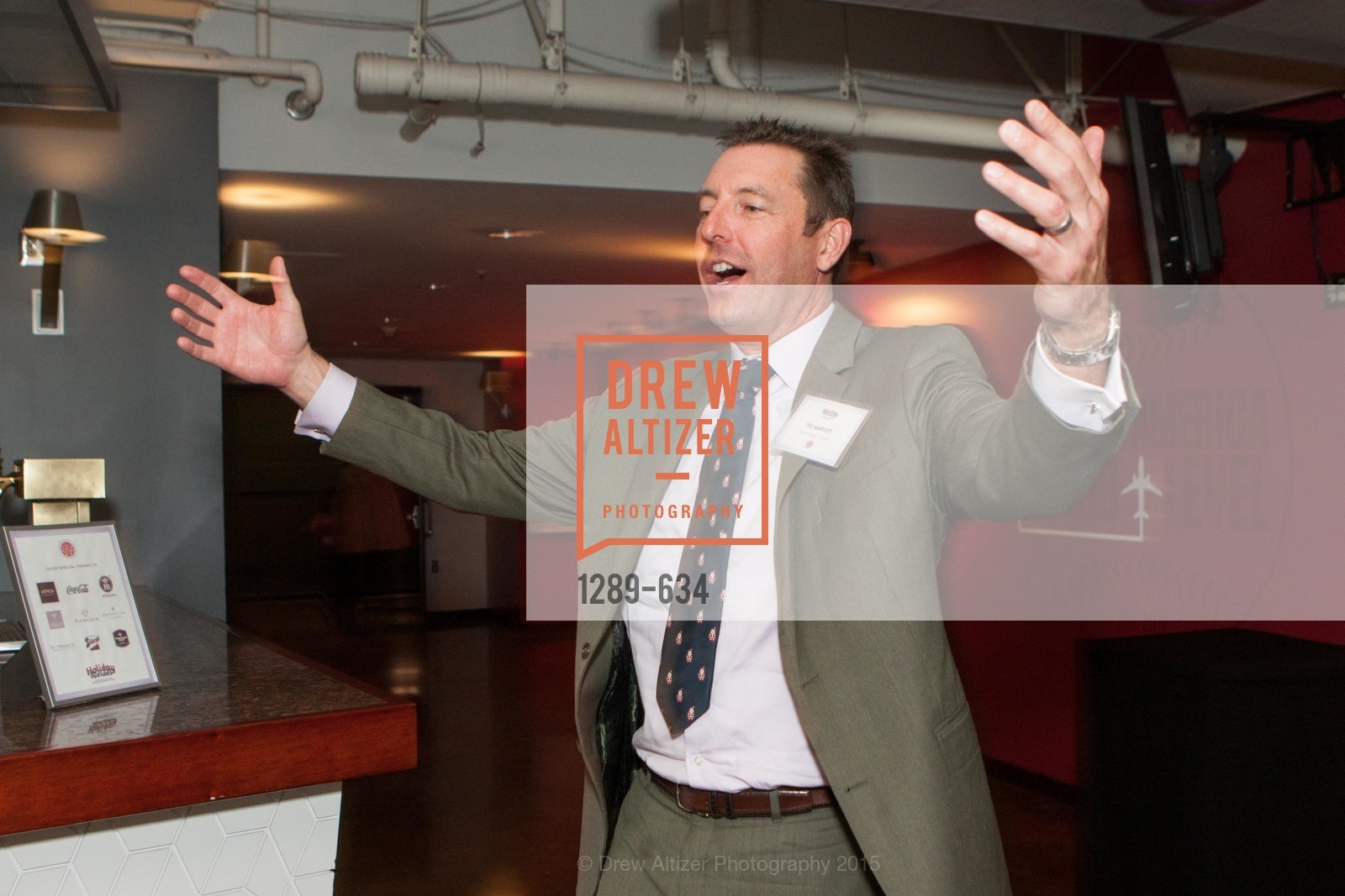 Ted Bartlett, Holiday Heroes 2015, AT&T Park, December 7th, 2015,Drew Altizer, Drew Altizer Photography, full-service event agency, private events, San Francisco photographer, photographer California