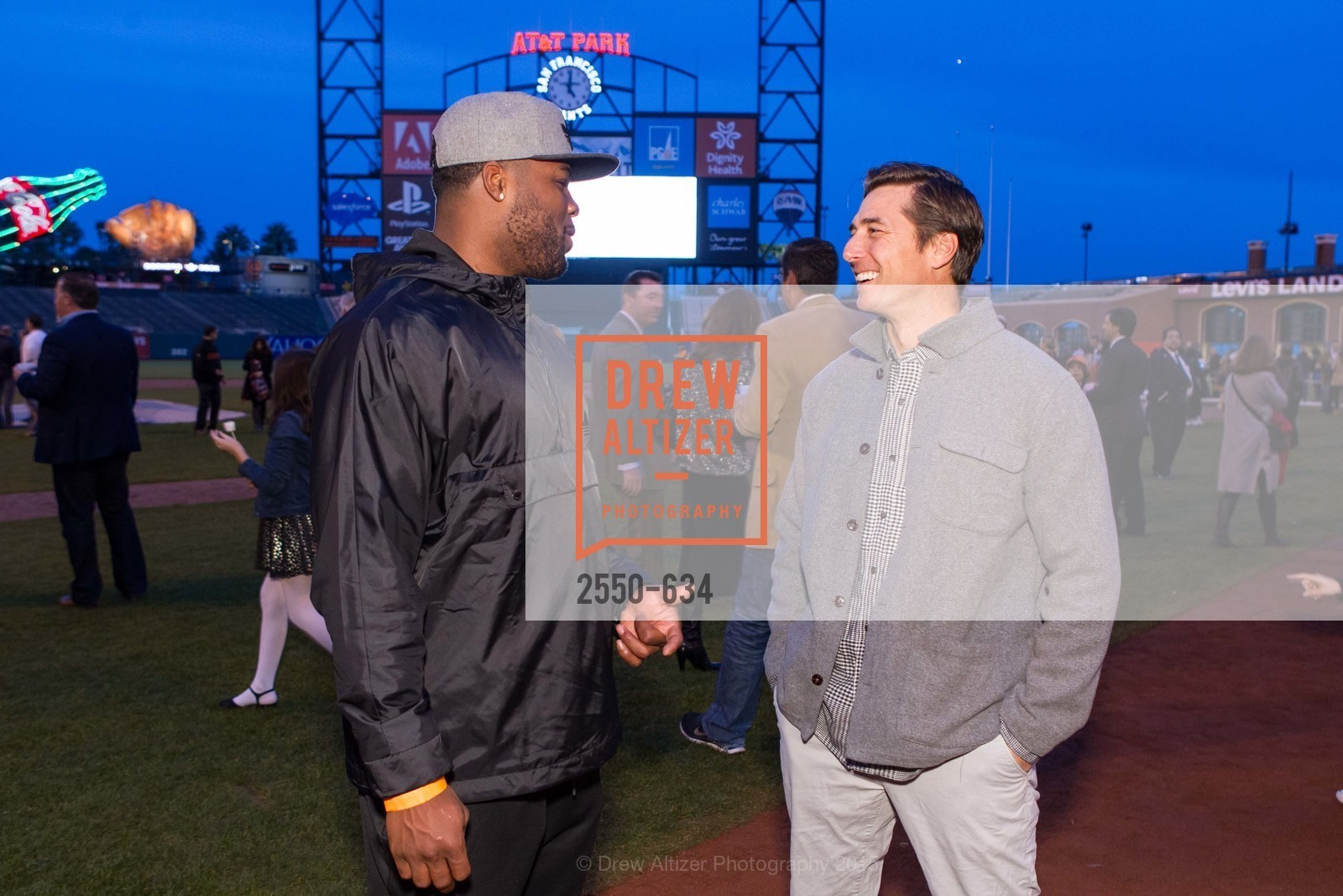 Carlos Hyde, Jonny Moseley, Holiday Heroes 2015, AT&T Park, December 7th, 2015,Drew Altizer, Drew Altizer Photography, full-service agency, private events, San Francisco photographer, photographer california