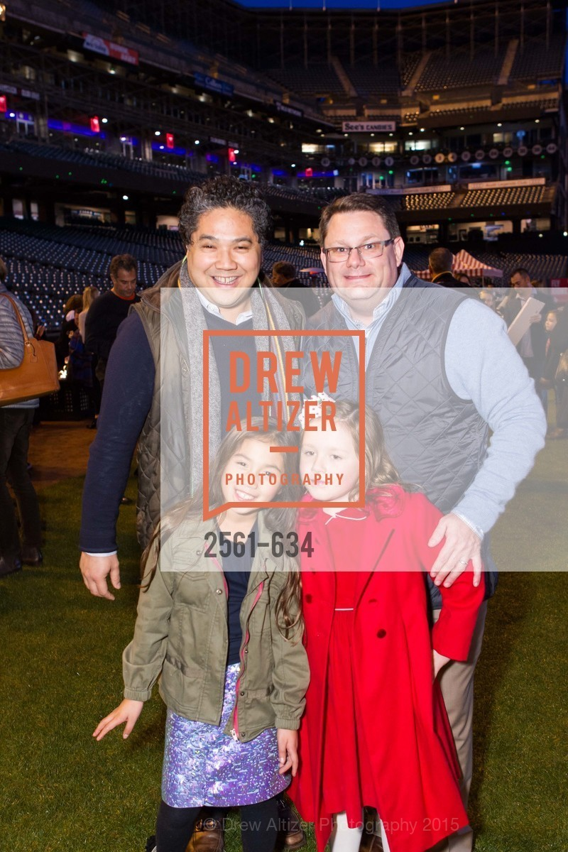 Kirk Dizon, Francesca Dizon, Ainsley Smith, Jeff Smith, Holiday Heroes 2015, AT&T Park, December 7th, 2015,Drew Altizer, Drew Altizer Photography, full-service agency, private events, San Francisco photographer, photographer california
