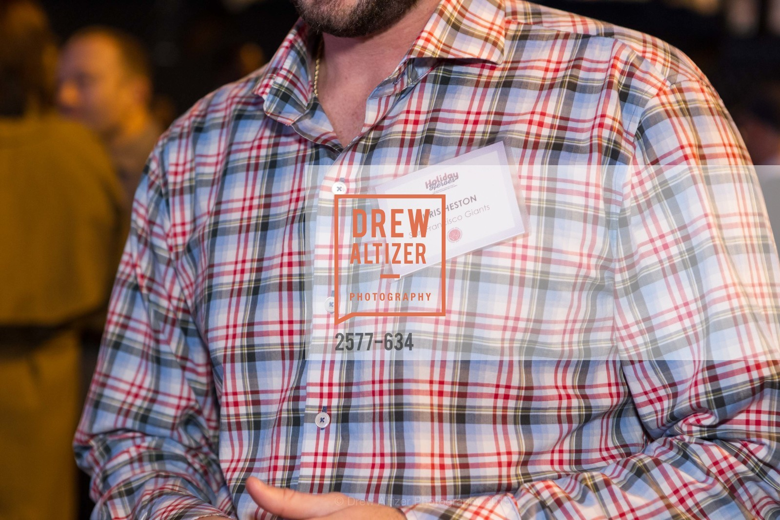 Chris Heston, Holiday Heroes 2015, AT&T Park, December 7th, 2015,Drew Altizer, Drew Altizer Photography, full-service event agency, private events, San Francisco photographer, photographer California