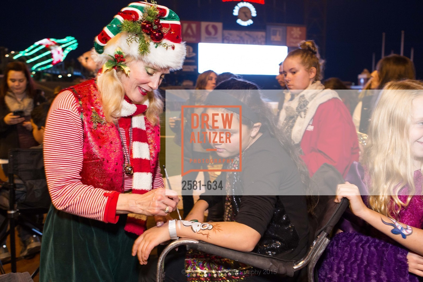 Sandra Leathley, Tess Gundacker, Holiday Heroes 2015, AT&T Park, December 7th, 2015,Drew Altizer, Drew Altizer Photography, full-service event agency, private events, San Francisco photographer, photographer California