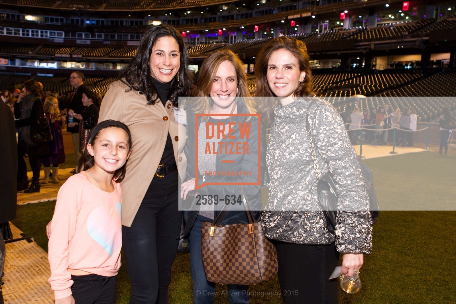 Millie Bartlett, Donna Hoghooghi, Amy McNamara, Andrea Zola, Holiday Heroes 2015, AT&T Park, December 7th, 2015,Drew Altizer, Drew Altizer Photography, full-service agency, private events, San Francisco photographer, photographer california