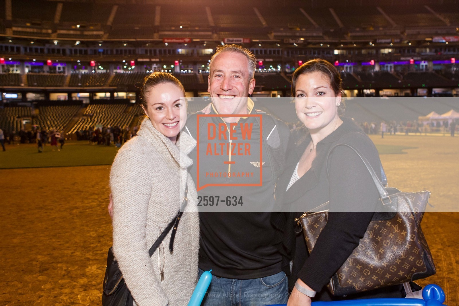 Veronica Bell, Brett McManigal, Kim McManigal, Holiday Heroes 2015, AT&T Park, December 7th, 2015,Drew Altizer, Drew Altizer Photography, full-service agency, private events, San Francisco photographer, photographer california