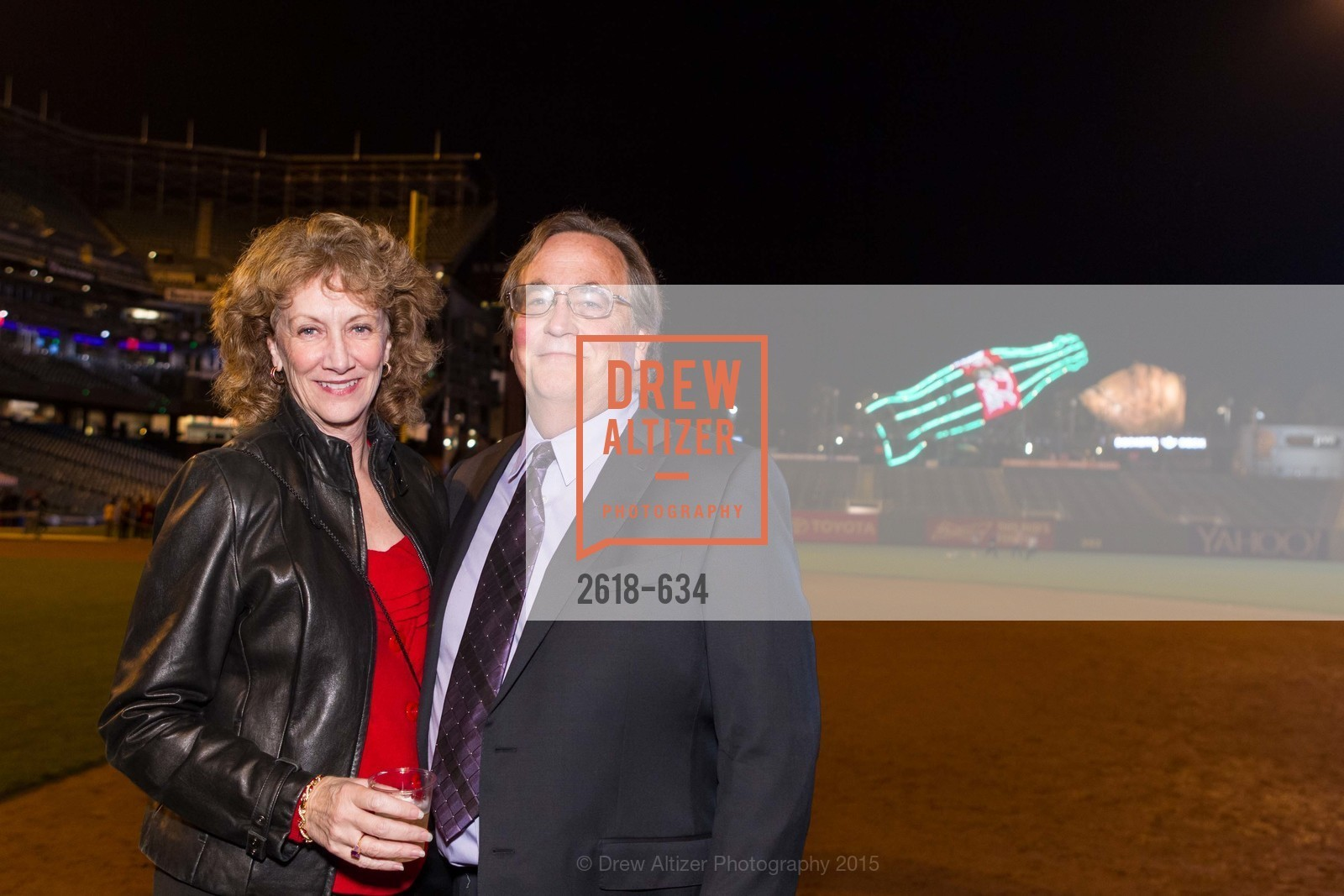 Liane Baker, Michael Baker, Holiday Heroes 2015, AT&T Park, December 7th, 2015,Drew Altizer, Drew Altizer Photography, full-service agency, private events, San Francisco photographer, photographer california