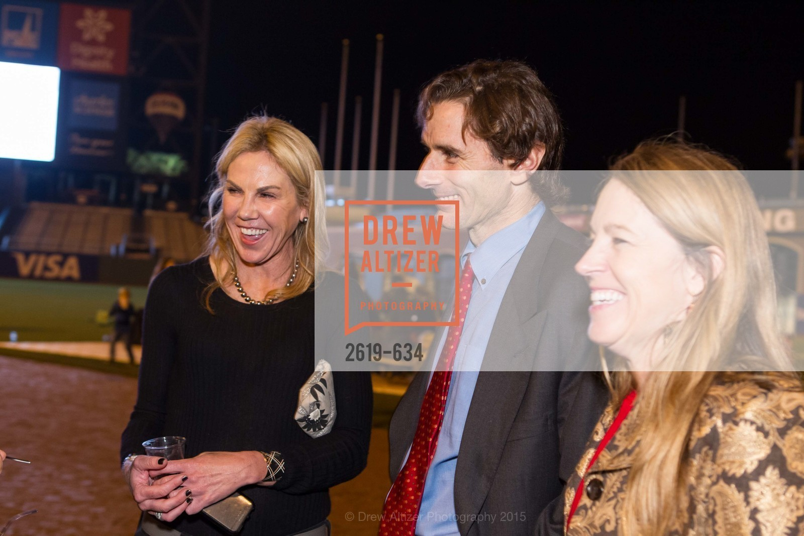 Tracy Gibbs, Paul Pelosi, Nora Feeling, Holiday Heroes 2015, AT&T Park, December 7th, 2015,Drew Altizer, Drew Altizer Photography, full-service agency, private events, San Francisco photographer, photographer california