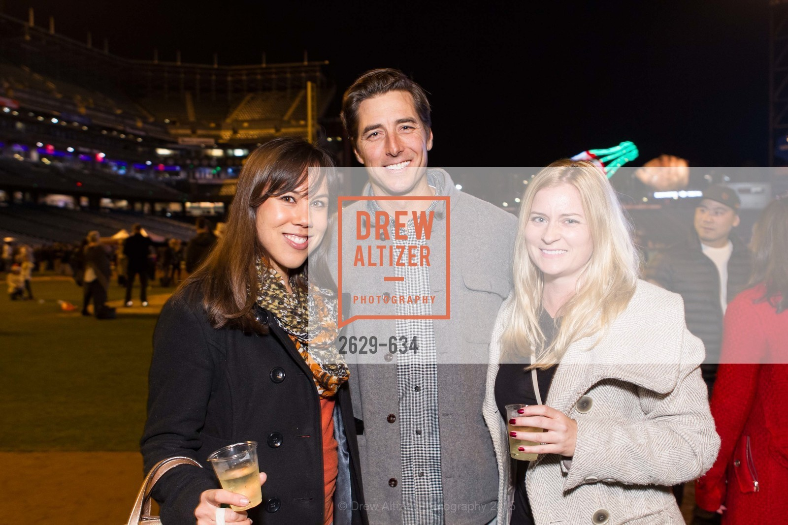 Stacy Quan, Jonny Moseley, Tammy Patterson, Holiday Heroes 2015, AT&T Park, December 7th, 2015,Drew Altizer, Drew Altizer Photography, full-service agency, private events, San Francisco photographer, photographer california