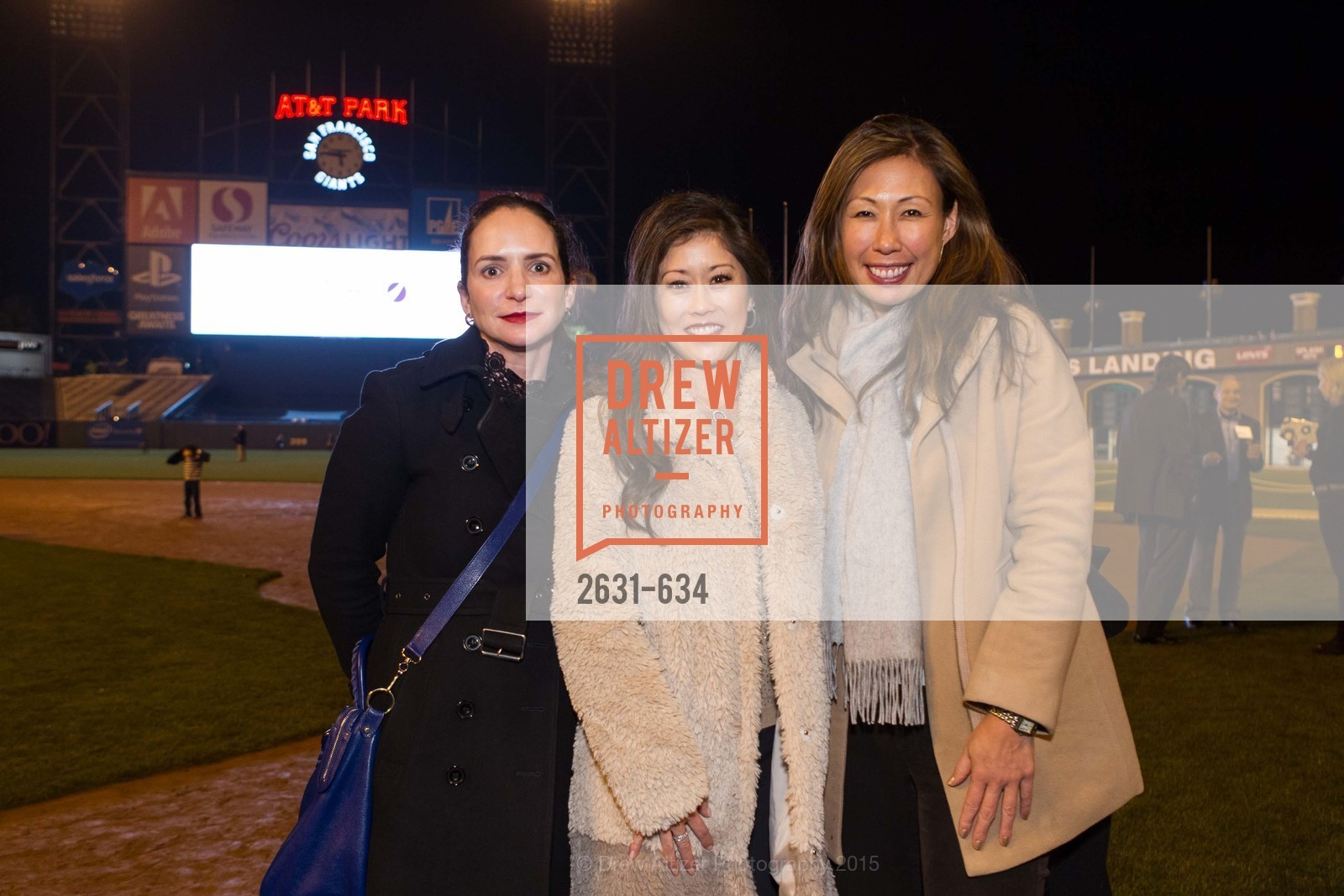Courtney Dallaire, Kristi Yamaguchi, Joy Boatwright, Holiday Heroes 2015, AT&T Park, December 7th, 2015,Drew Altizer, Drew Altizer Photography, full-service agency, private events, San Francisco photographer, photographer california