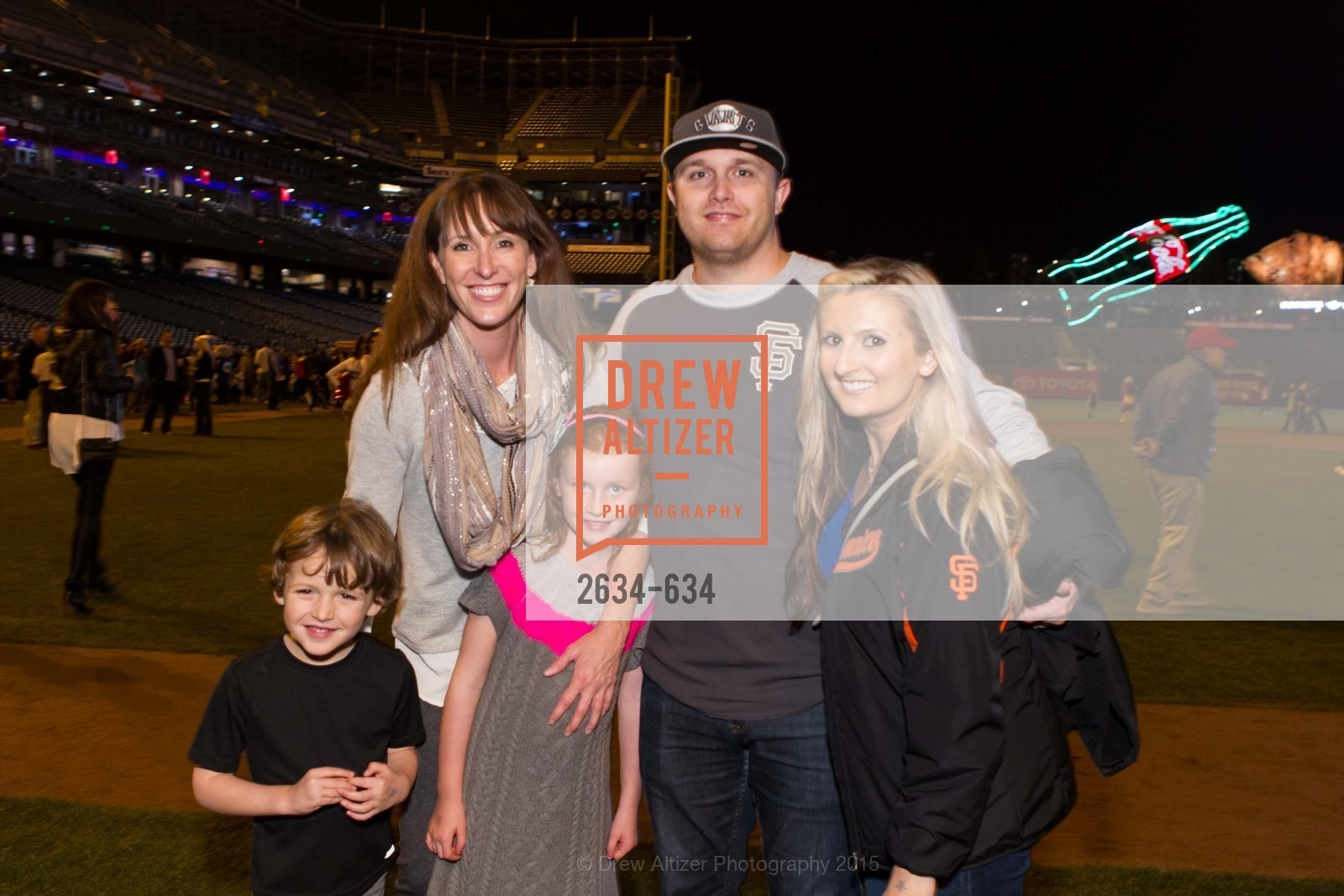 Gavin Lago, Michelle Lago, Declan Lago, Kenny Rasone, Joanna Lima, Holiday Heroes 2015, AT&T Park, December 7th, 2015,Drew Altizer, Drew Altizer Photography, full-service agency, private events, San Francisco photographer, photographer california