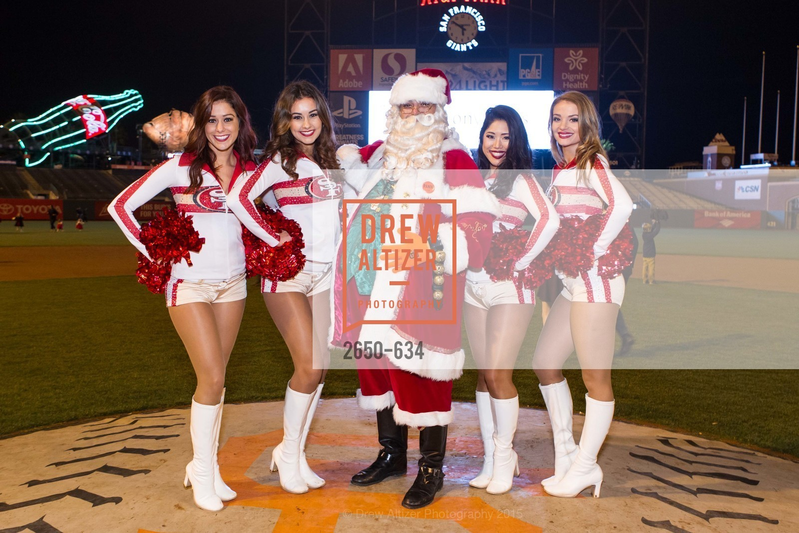 Casey, Jordan, Yuri, Karina, Holiday Heroes 2015, AT&T Park, December 7th, 2015,Drew Altizer, Drew Altizer Photography, full-service agency, private events, San Francisco photographer, photographer california