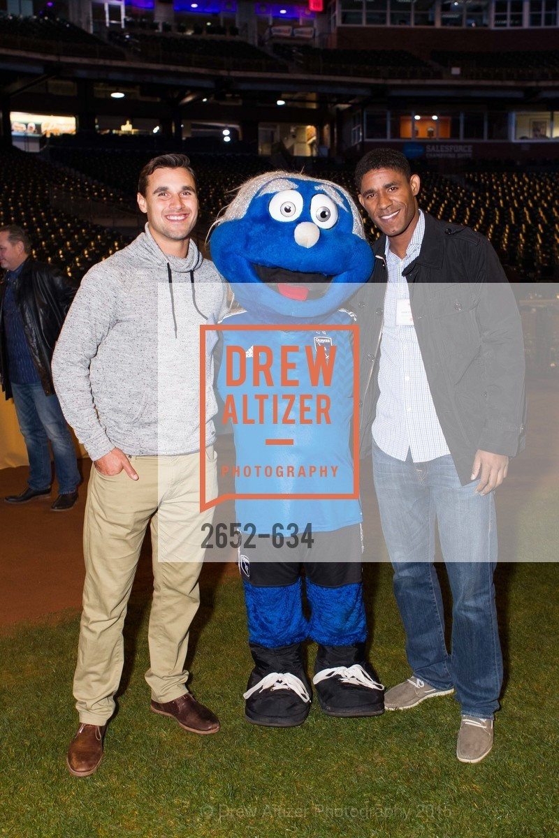 Chris Wondolowski, Khari Stephenson, Holiday Heroes 2015, AT&T Park, December 7th, 2015,Drew Altizer, Drew Altizer Photography, full-service event agency, private events, San Francisco photographer, photographer California
