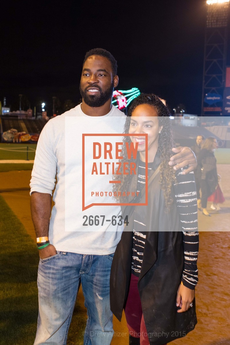Justin Tuck, Lauran Tuck, Holiday Heroes 2015, AT&T Park, December 7th, 2015,Drew Altizer, Drew Altizer Photography, full-service agency, private events, San Francisco photographer, photographer california