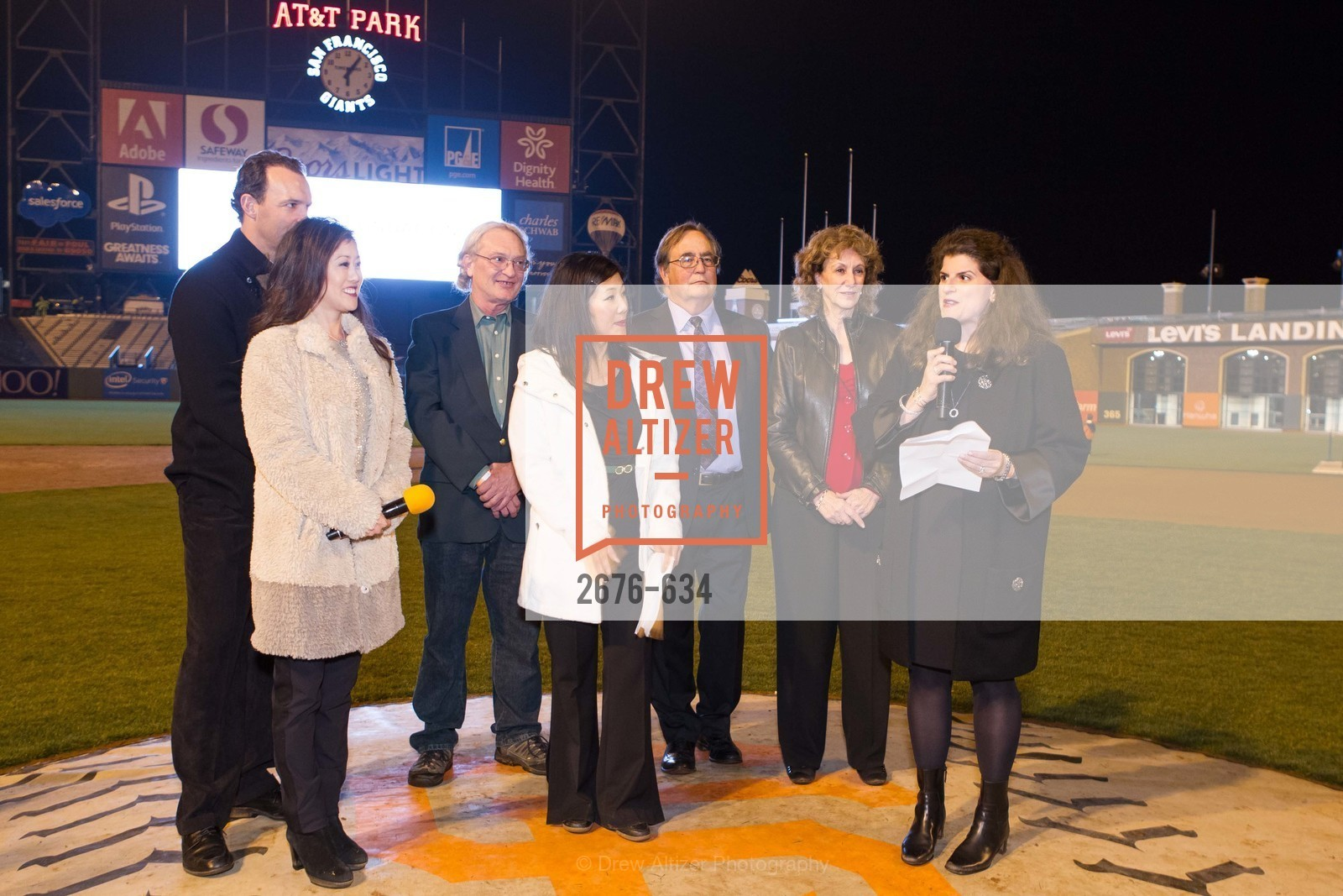 Kristi Yamaguchi, Bret Hedican, Mike Herbst, Michael Baker, Liane Baker, Amy Wender-Hoch, Holiday Heroes 2015, AT&T Park, December 7th, 2015,Drew Altizer, Drew Altizer Photography, full-service agency, private events, San Francisco photographer, photographer california