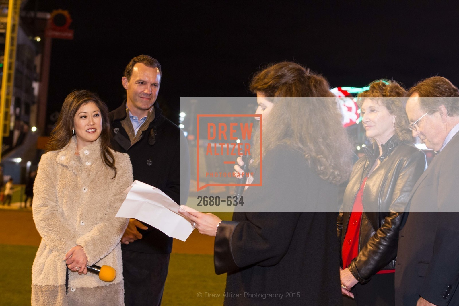 Kristi Yamaguchi, Bret Hedican, Amy Wender-Hoch, Liane Baker, Michael Baker, Holiday Heroes 2015, AT&T Park, December 7th, 2015,Drew Altizer, Drew Altizer Photography, full-service agency, private events, San Francisco photographer, photographer california