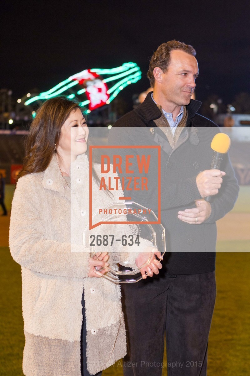 Kristi Yamaguchi, Bret Hedican, Holiday Heroes 2015, AT&T Park, December 7th, 2015,Drew Altizer, Drew Altizer Photography, full-service agency, private events, San Francisco photographer, photographer california